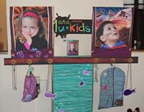 Stand aniversario umbrale kids