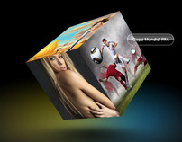 SONY Latin America 3D Facebook minisite