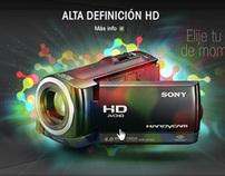 SONY Latin Handycam Minisite