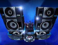 SONY Latin America Home Audio Minisite