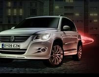 VW Tiguan Concept minisite