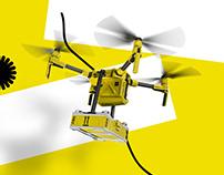 Drone Delivery Yandex