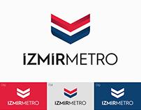 İzmir Metro Logo Redesign