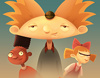 Hey Arnold! Poster Fan Art