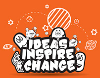 Creative Thinking Wall sticker
