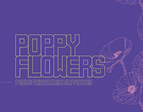 POPPY FLOWERS - FREE DECORATIVE SANS SERIF