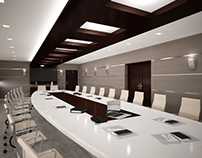 Qatar, Doha - Conference Room Concept Design