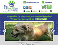The UltiMutt Inn & Pet Resort | Web Design