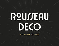 ROUSSEAU DECO - FREE DISPLAY FONT