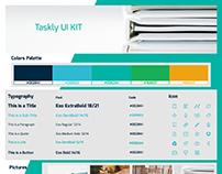 UI Kit Taskly