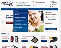 Pest Control - Website Design