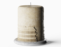 aROMA - A candle with a roman touch