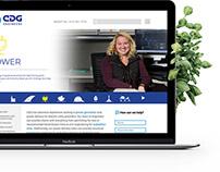 CDG Engineers Website Design