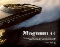Magnum Marine Corporate Website