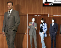 HBO MAD MEN Campaign Minisite