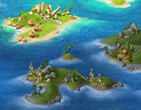 Game art for Youda Fisherman