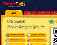 SmarTags interface