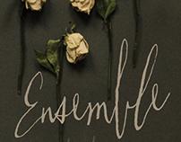Poster design for Clemson Player's 'Ensemble'