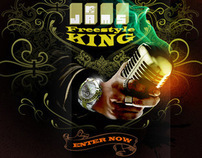 MTV Freestyle King Contest Minisite