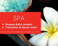 STARWOOD LE MERIDIEN Latin America Website