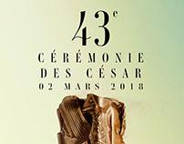 Campagne Teaser César 2018
