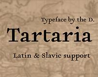 шрифт Тартария | Tartaria type