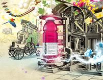 VITAMINE WATER Print Ad