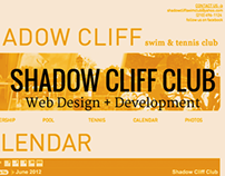 Shadow Cliff Club Website Design + Development