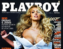 Cover and editorial @ Playboy October 2012