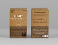 Marks & Spencer tea packaging