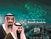 Saudi 88th National Day 2018