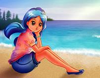 Biển nỗi nhớ và em ( The sea, nostalgia and you)