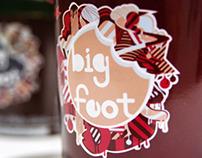 Big Foot Ice packaging