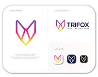 TRIFOX logo design | brand identity