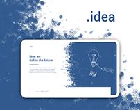 .idea - Landing Page