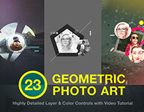 Geometric Photo Art (5 FREE Photo Artworks)