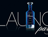 Ultimat Vodka | Print Design