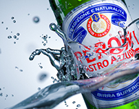 Peroni Nastro Azzurro /// 3D Creative visuals & Advert