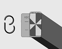 Samsung Galaxy S8 Graphic Design