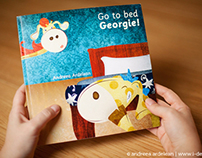 Go to bed, Georgie! - Interactive children's book