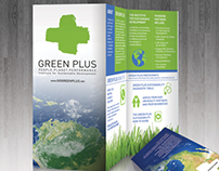 Green Plus Brochure Design
