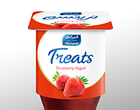 Treats Yogurt by Almarai