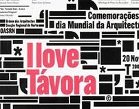 I love Távora, Poster