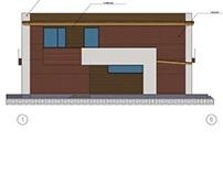 Vienbucio namo projektinis pasiulymas