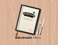 BENNIGAN'S Electronic Menu