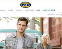 Fossil e-Commerce Enhancements