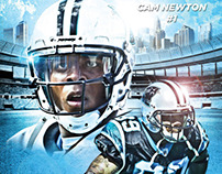 Carolina Panthers Concept Poster