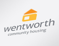 Wentworth Community Housing Branding + Identity