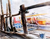 My watercolour-landscape2