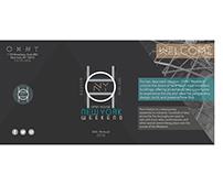 Open House New York Event Brochure Design